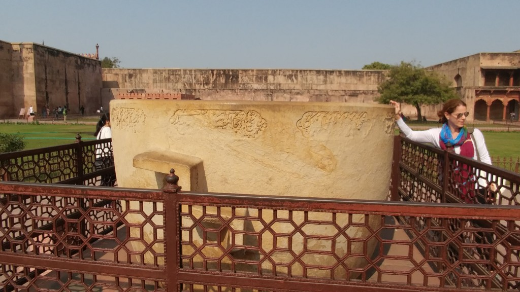 Agra Fort - Great Tub