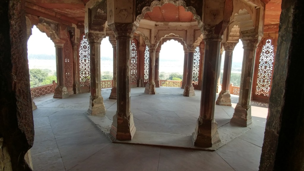 Agra Fort - Sun room