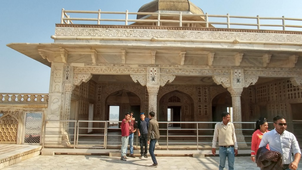 Agra Fort - Shaw Jahan's Prison
